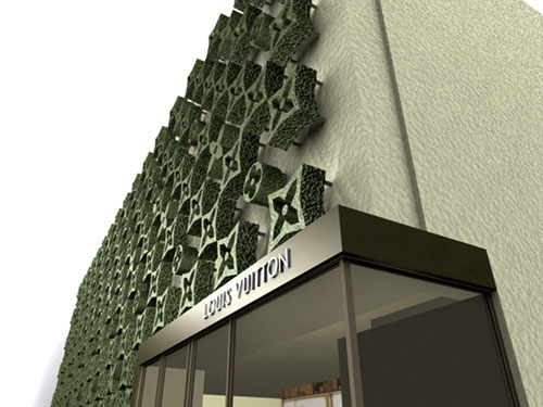 TOPIADE Layover Facade by iGNITIATE for LOUIS VUITTON ARCHITECTURE Department Paris, France gregory polletta